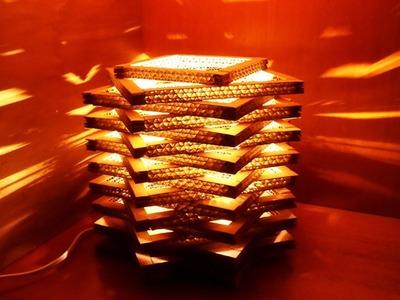 Crea una Sencilla y Preciosa Lámpara de cartón - Hazlo tu Mismo Hogar - Guidecentral