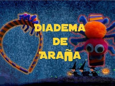 Diadema de Araña   Halloween   Accesorio   PumitaNegraArt