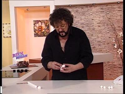 Jorge Rubicce  - Bienvenidas TV - Crea un Gorro de Cocinera en la sección Casita de Muñecas
