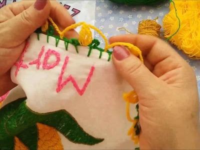 Como hacer puntilla de elote | Como hacer una puntilla