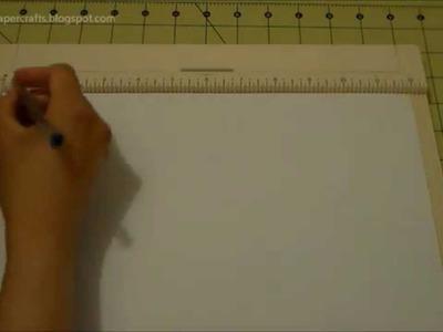 Mini Album para Niña - Explicación del Encuadernado y Formato de la Página | Luisa PaperCrafts