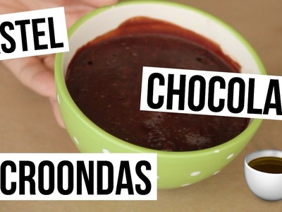 Pastel de Chocolate en Microondas | Mug Cake | RebeO