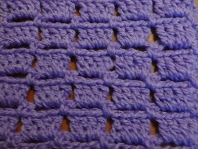 Puntada facilísima a crochet. Muestra No. 87
