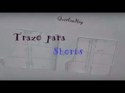Alta Costura para NIÑOS clase # 29  Trazo del Shorts