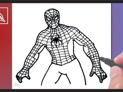 Cómo dibujar Al Hombre Araña 3 - How To Draw Spider Man 3 | Dibujando