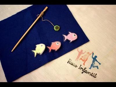 Cómo hacer material para trabajar el Método Montessori Carpeta peces