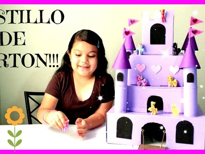 COMO HACER UN CASTILLO DE CARTÓN!! (HOW TO MAKE A CARDBOARD CASTLE)