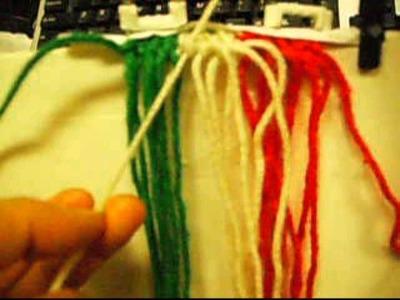 Como hacer una forma de bandera mexicana Produce 11