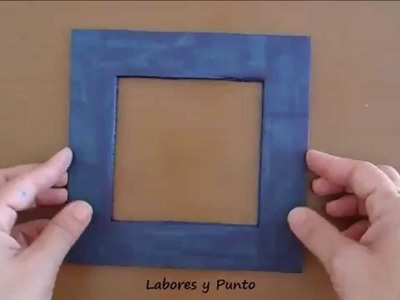 Como hacer una plantilla de carton para calcular puntos