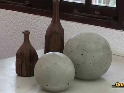 IDEAS CONCRETAS: Cómo hacer esferas en concreto con Quikrete |