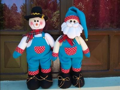 Muñeco de Nieve de Overol parado
