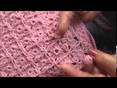 Parte 2 de como hacer un chaleco en gancho