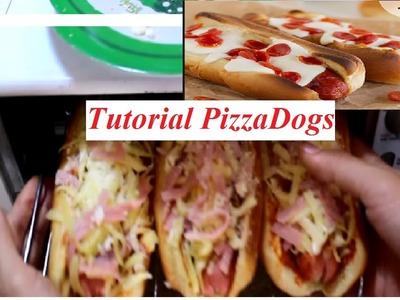 Tutorial PizzaDog. HotDog + Pizza = PizzaDog. No Te Cocines. NoTeProyectesAC