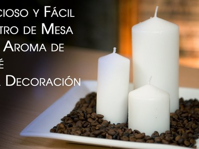 Velas de Cafe y Centro de Mesa - Coffee Candles