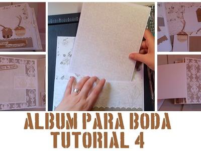 ÁLBUM PASO A PASO - TUTORIAL 4: PÁGINAS 7 Y 8
