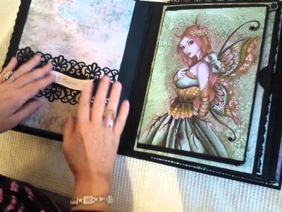 Álbum Scrapbooking Super, super grande, por Liliana