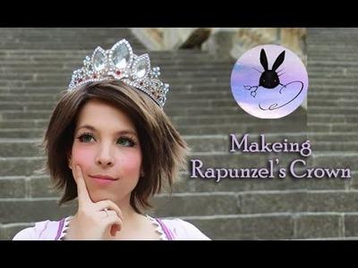 Ari B-Rabbit STORE   Etsy   - Making Rapunzel's Crown [Tangled]