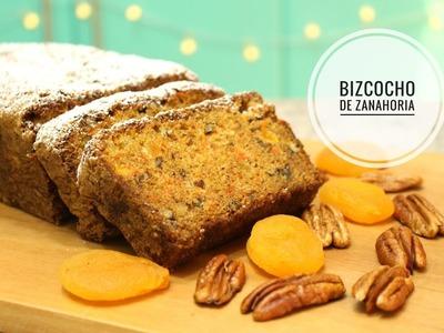 Bizcocho de Zanahoria - Fácil y Rápido. Cositaz Ricaz