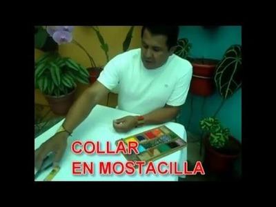 CINCO MEJORES VÍDEOS DE COMO HACER COLLARES EN MOSTACILLA
