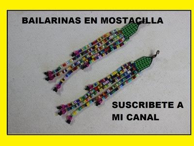 COMO HACER BAILARINAS EN MOSTACILLA