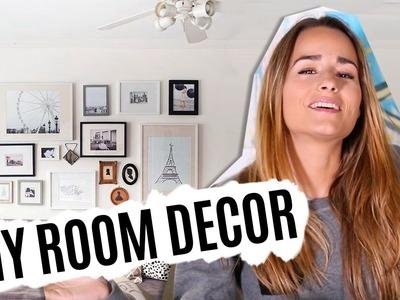 DIY Decora tus paredes rápido & low cost | Tumblr Room Decor