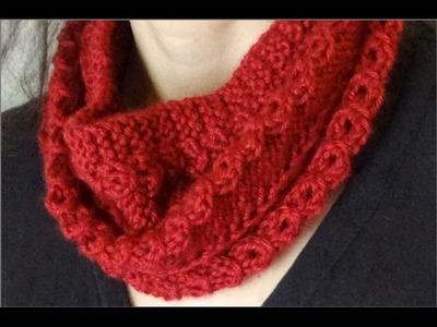 BUFANDA INFINITA OTOÑO - Infinity Scarf - Easy Knit Cowl - 2 agujas (394)