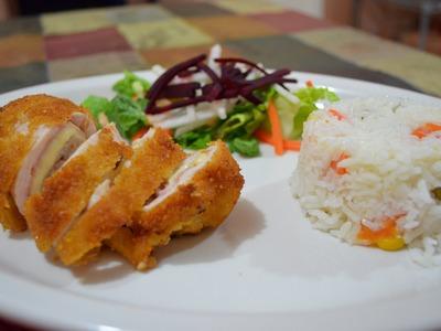 Cómo hacer pechuga de pollo al Cordon Bleu - Recetas de cocina - CHUCHEMAN1 - 2013
