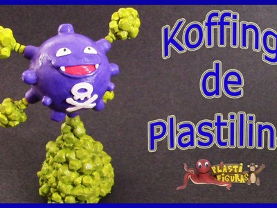 Como Hacer Pokémon Koffing de Plastilina.How To Make Pokémon Koffing with Clay.Pokémon GO