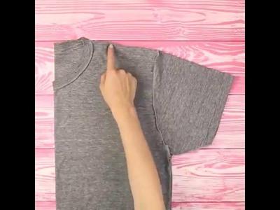 Como Hacer Un Bolso Con Una Camisa Vieja - DIY - 2016