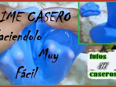 SLIME Casero ,Haciendo mucho MEJOR El SLIME Muy Fácil!!! (H Tutoriales)