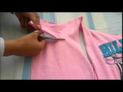 Tutorial De Camisa Aburrida A Camisa A La Moda