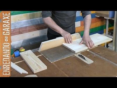 Cómo cortar madera para un proyecto de carpintería