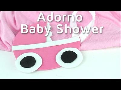 Cómo hacer adornos para una fiesta de Baby shower | facilisimo.com