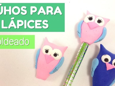 Cómo moldear un búho para decorar lápices | facilisimo.com