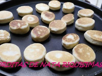GORDITAS DE NATA ORIGINALES. RECETA NUEVA