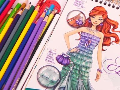 Modas al estilo Ariel La sirenita - Juegos de vestir de Princesas de Disney en español