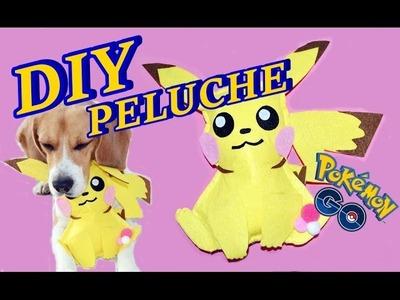 PIKACHU KAWAII de peluche sin coser!! PoKémon go!! *stuffed toy* - BeagleArts ♥