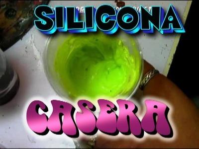!!!SILICONA CASERA DE COLORES!!!!