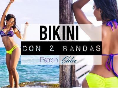Como Coser Bikini con 2 bandas | Chloe Versión #1