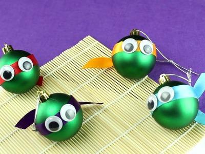 Cómo hacer bolas de Navidad de las Tortugas Ninja| facilisimo.com