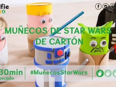Cómo hacer muñecos de Star Wars de cartón · Handfie DIY