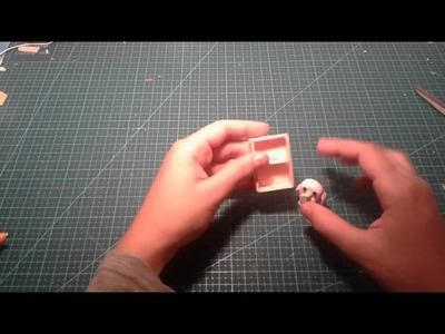 Como hacer varios muebles para una casa de muñecas