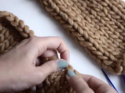 Cómo coser las mangas al cuerpo de un jersey   WE ARE KNITTERS