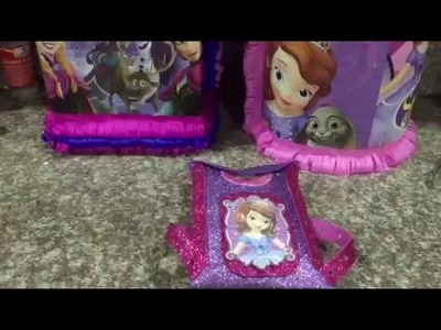 Como hacer un dulcero facil Princesa Sofia, Sofia the first party bah