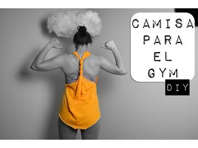 DIY | Camisa para el GYM