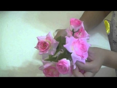 2 ideas para hacer una Diademas de Flores SUPER FACIL