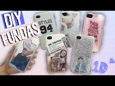 ¡DIY Fundas para tu celular de One Direction!