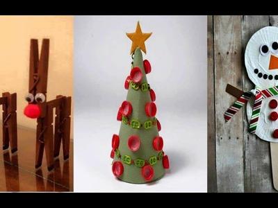 Adornos Navideños con Material Reciclado - Ideas de Decoracion y Manualidades DIY para Navidad