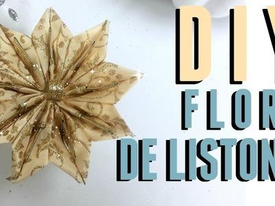 DIY FLOR NAVIDEÑA.ANILLO PARA SERVILLETAS!