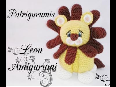 DIY León Amigurumi en ganchillo- Crochet